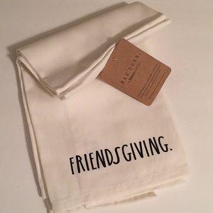 🍂 RAE DUNN FRIENDSGIVING Towel Set (2) - NWT